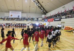 2016.1.9第17回 四国近県交歓小学生バレーボール大会アンパンマンカップ2